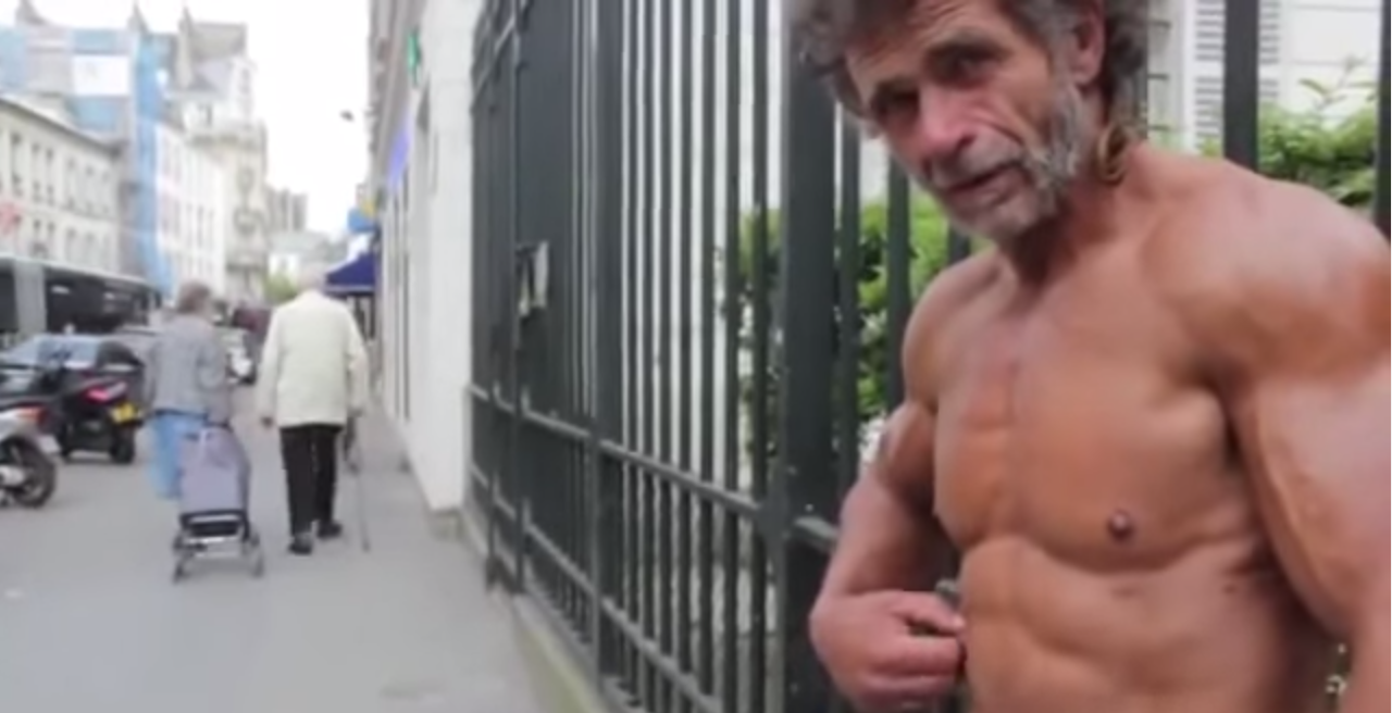 The Homeless 50 Year Old Bodybuilder